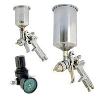 HVLP Gravity Feed Spray Gun Kit for Air Compressors