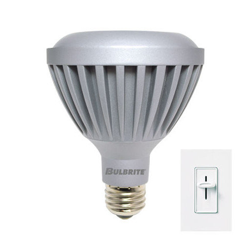 Bulbrite Industries 9W LED PAR30 Dimmable Narrow Flood Light Bulb in Warm White (Set of 6)