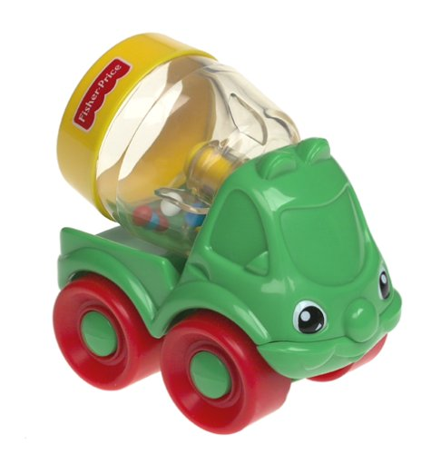 Fisher Price Happy Cement Mixer, By Bright Beginnings Ship from US by