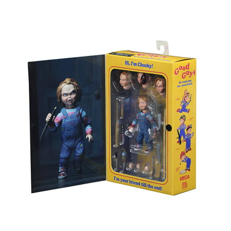 NECA - Chucky 4 inch Scale Action Figure - Ultimate Chucky (Talking Chucky)