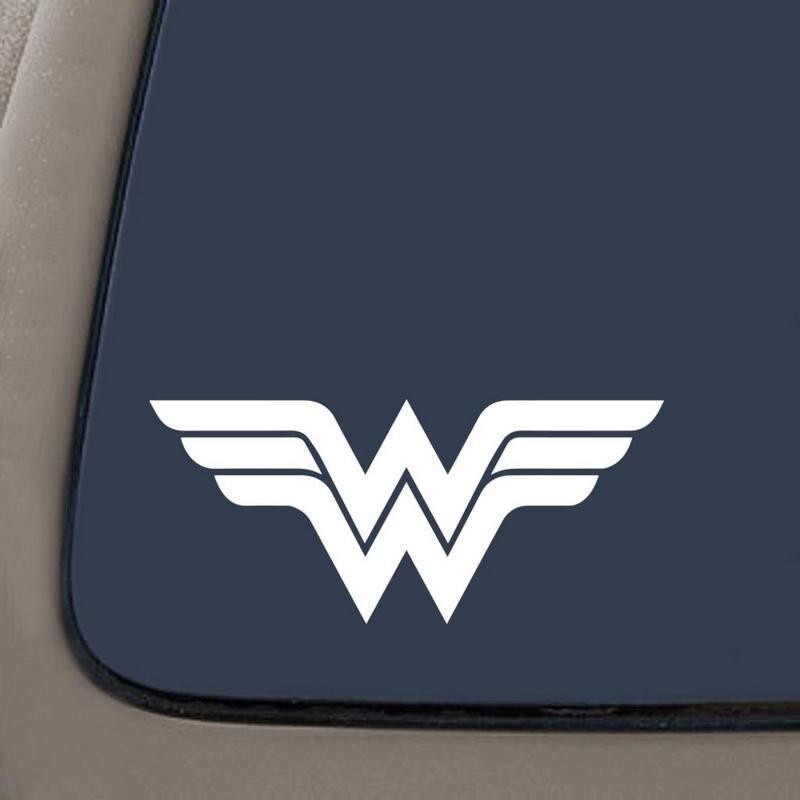 Wonder Woman Vinyl Decal for laptop windows wall car boat b