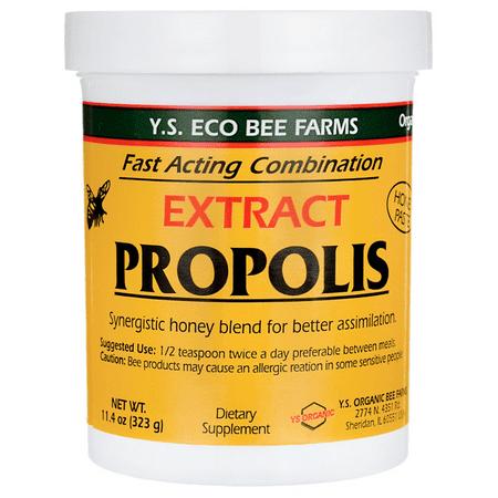 - YS Propolis Extract - Liquid Honey Paste 110,000 mg - 11.4 oz