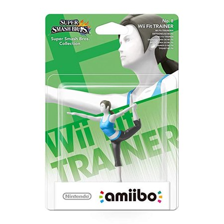 Nintendo Amiibo Figure - Super Smash Bros. - WII FIT
