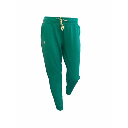 - Women's Under Armour UA Heatgear Logo Tech Loose Joggers Pants Sweatpants Teal