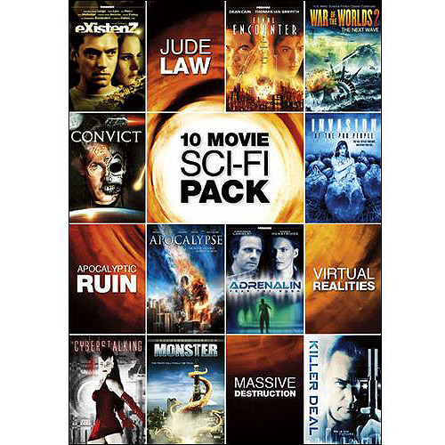 10 Movie Sci-Fi Pack (Widescreen)