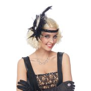 Deluxe Flapper Feather Headpiece