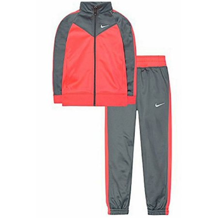 NEW Girls Nike 2-Piece Track Warm-Up Suit, Cool Grey Size 6 - Retail Price $56