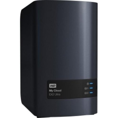 Wdbvbz0080jch Nesn Wd 8Tb My Cloud Ex2 Ultra Network Attached Storage   Nas   Wdbvbz0080jch Nesn   Marvell Armada 385 385 Dual Core  2 Core  1 30 Ghz   2 X Total Bays   8 Tb Hdd    Wdbvbz0080jch Nesn