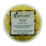 Candied Diced Citron ~ Glazed Fruit ~ 1 Pound Tub