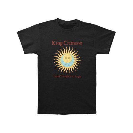 King Crimson Men's  Larks' Tongues In Aspic Black T-shirt