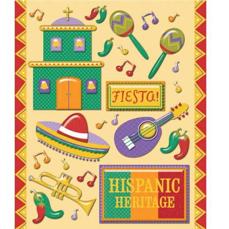 - Hispanic Spanish Heritage Stickers
