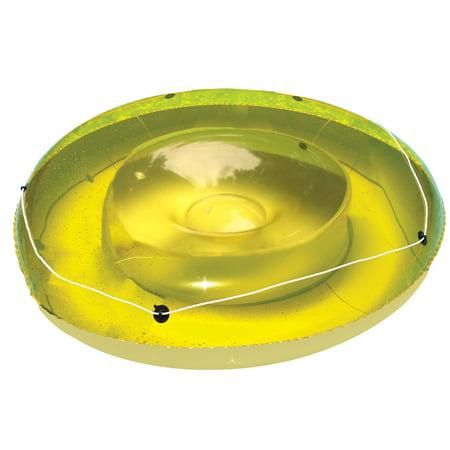 Swimline Vinyl Suntan Inflatable Pool Float, Green ()