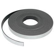 MASTER MAGNETICS 07013 Mag. Strip,25 ft. L,1/2 In W,PK6