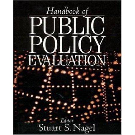 Handbook of Public Policy Evaluation - image 1 of 1