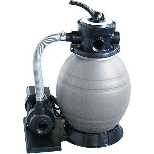"Blue Wave 12"" Sand Filter System with 1/2 HP Pump for Above-Ground Pools"