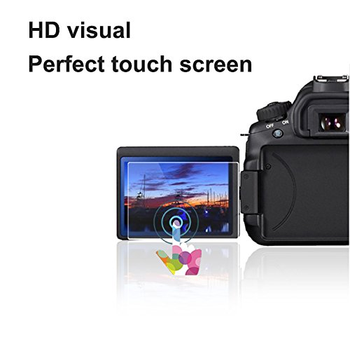 Foto&Tech 2 Sets Crystal Clear HD LCD Screen Protector for Panasonic DMC-LX100/ DMC-ZS100 Digital Camera LCD Monitor Bubble Free Multi-Layer Anti-Smudge Coating / Easy to Apply