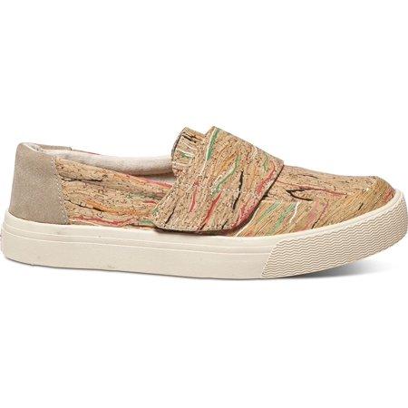 TOMS Women's Altair Slip-On Multi Cork Sneaker 9.5 B