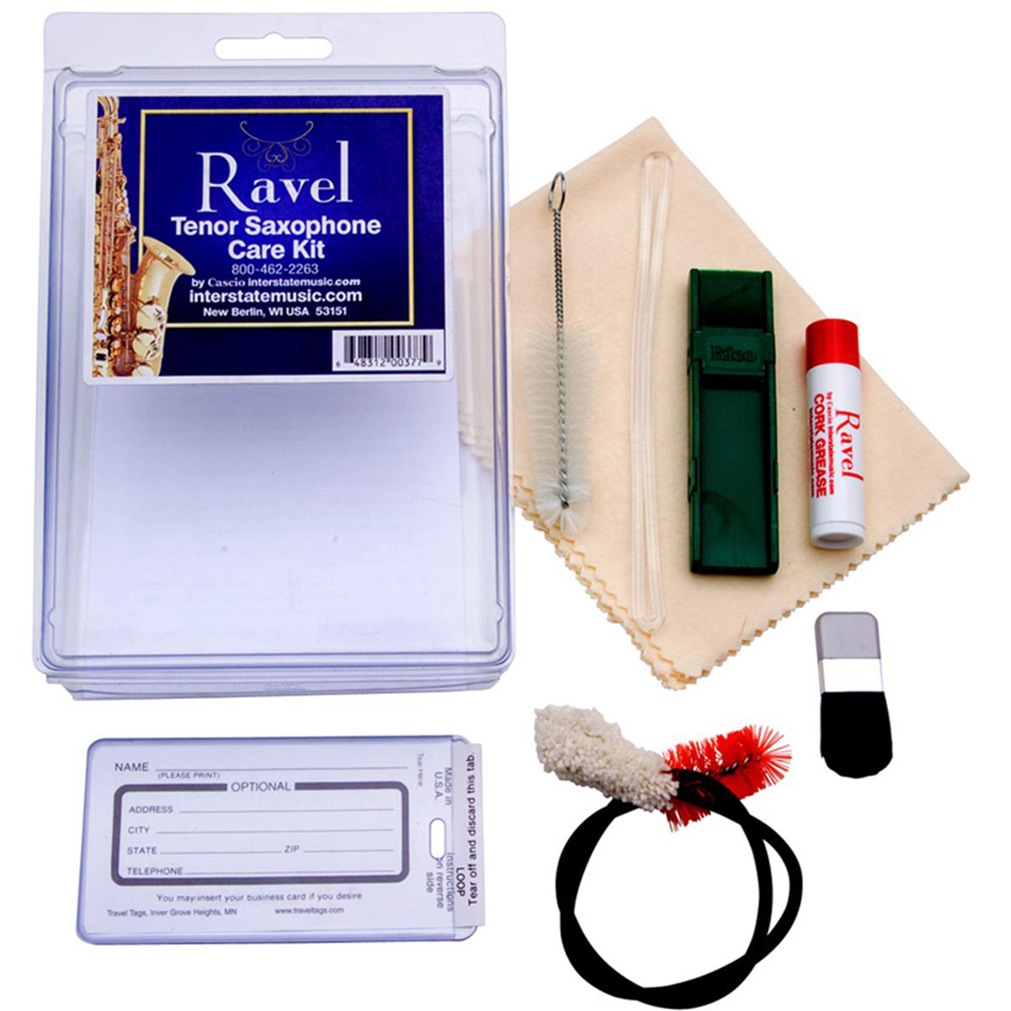 Ravel OP342, Tenor Sax Care Kit