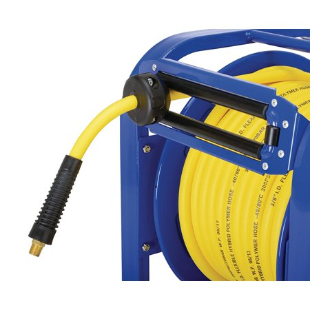 GOODYEAR Spring Driven Steel Retractable Hose Reel (3/8 in  x 100 ft )
