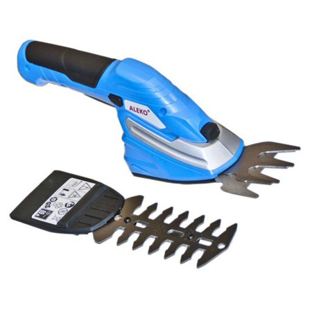 - ALEKO AP213BLUE 2 In 1 Combo Cordless Compact Grass Shrub Shear Trimmer