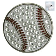 Bella Crystal Golf Ball Marker & Hat Clip - Baseball