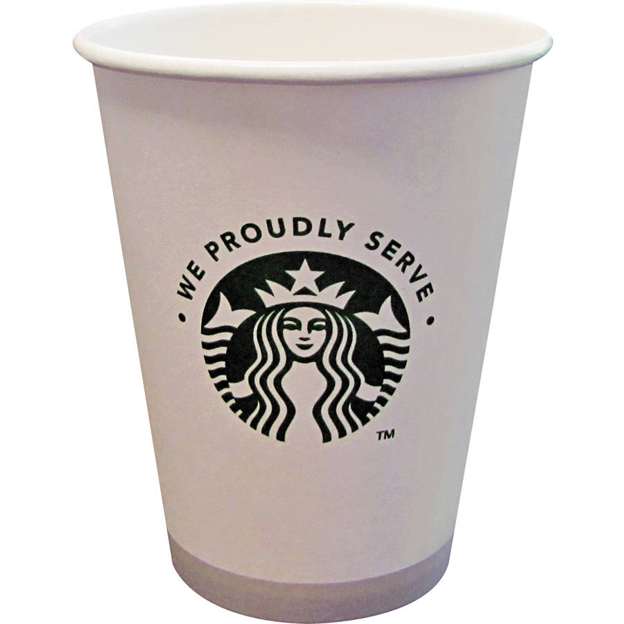 Starbucks 12 Oz Hot Cups, (Pack of 1000)
