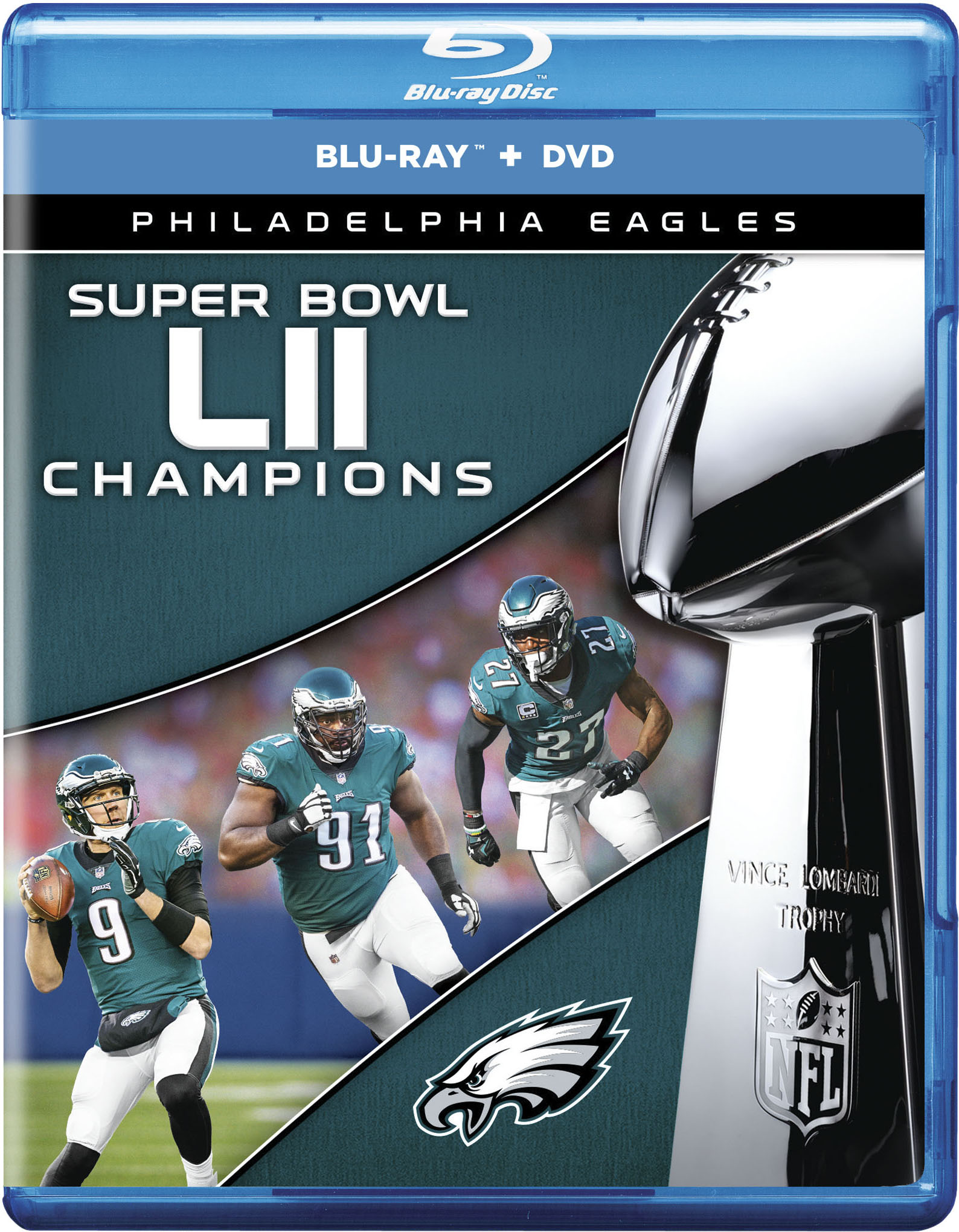 Philadelphia Eagles NFL Super Bowl 52 Champions (Blu-ray + DVD) by