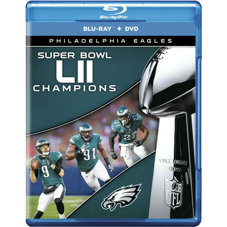 Philadelphia Eagles NFL Super Bowl 52 Champions (Blu-ray + DVD) - Super Bowl Team Colors