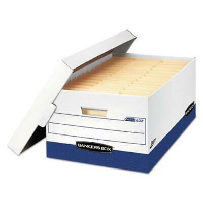 Bankers Box Presto Maximum Strength Storage Box, Legal 24,15 x 24 x 10,12/Carton Maximum Strength Recycled Storage Boxes