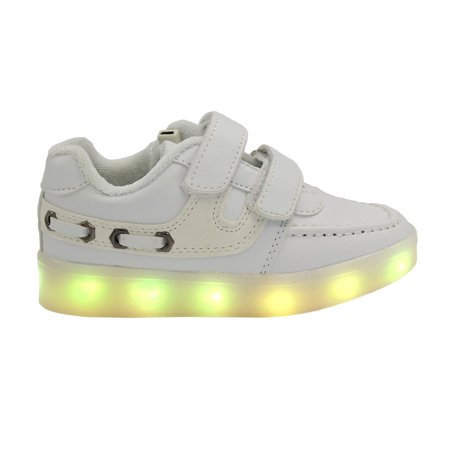 Shoes That Light Up (LED Light Up Sneakers Kids Low Top USB Charging Boys Girls Unisex Shoes)