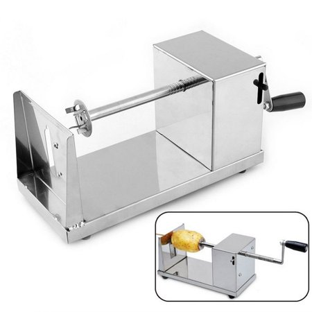 Manual Stainless Steel Twisted Potato Slicer French Fry Vegetable Cutter