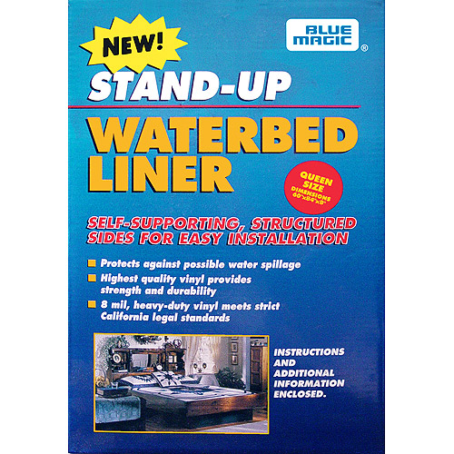 blue magic standup waterbed liners
