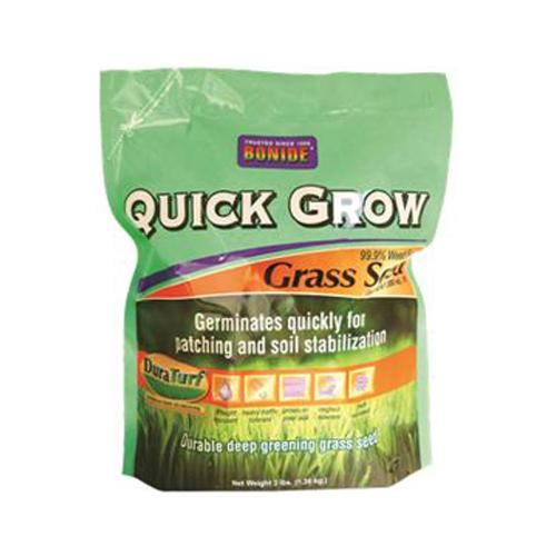 BONIDE PRODUCTS INC Grass Seed, Quick-Grow, 3-Lbs.