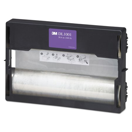 3M Refill Rolls for Heat-Free Laminating Machines, 100 ft. -MMMDL1001 (3m Laminating Machine)