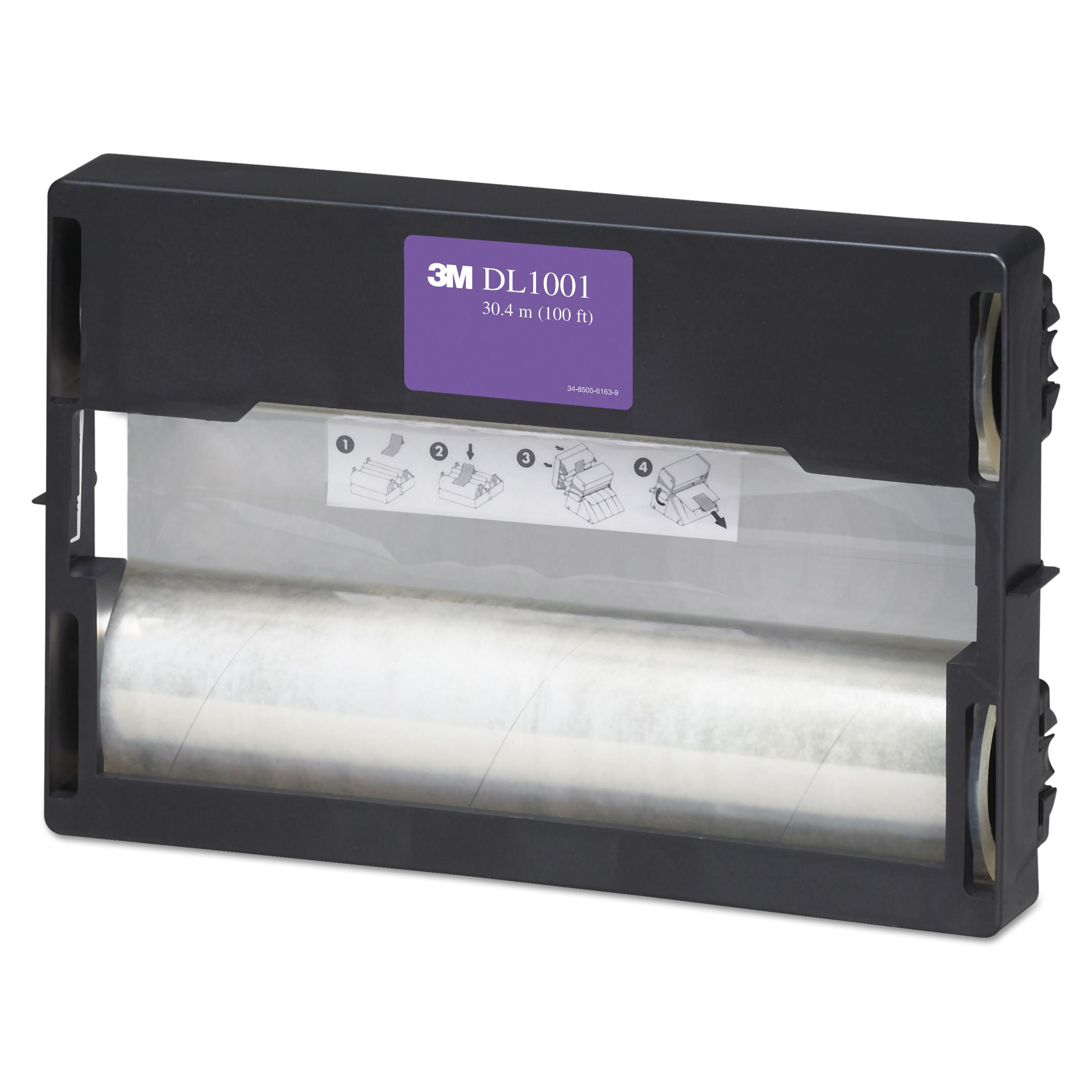 3M Refill Rolls for Heat-Free Laminating Machines, 100 ft. -MMMDL1001