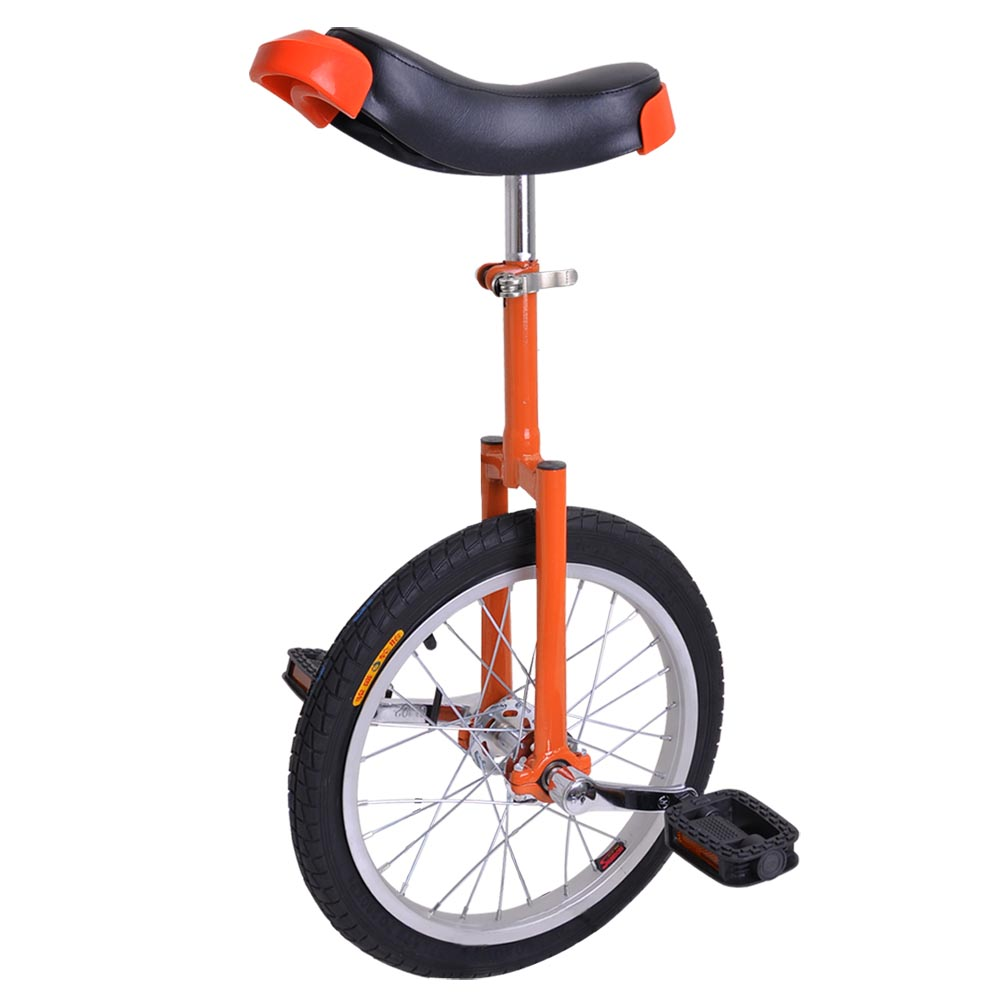 """16"""" Inch Wheel Unicycle Leakproof Butyl Tire Wheel Cycling Outdoor Sports Fitness Exercise Health Color Opt"""
