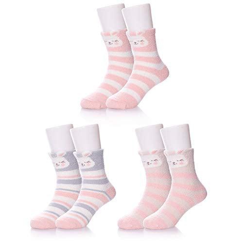 Accessories Baby Socks Winter Wear Cute 3Pairs//bag Comfortable Soft Warm Socks