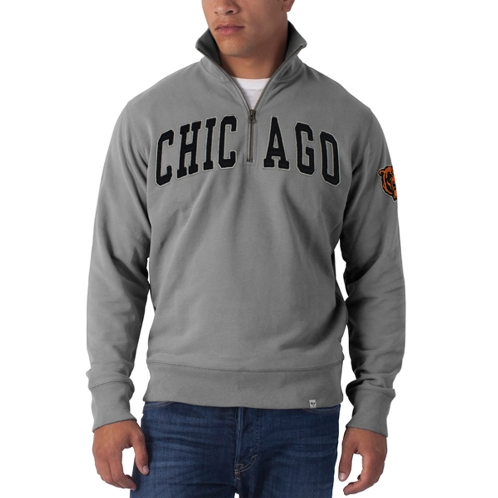 Chicago Bears - Striker 1/4 Zip Premium Sweatshirt