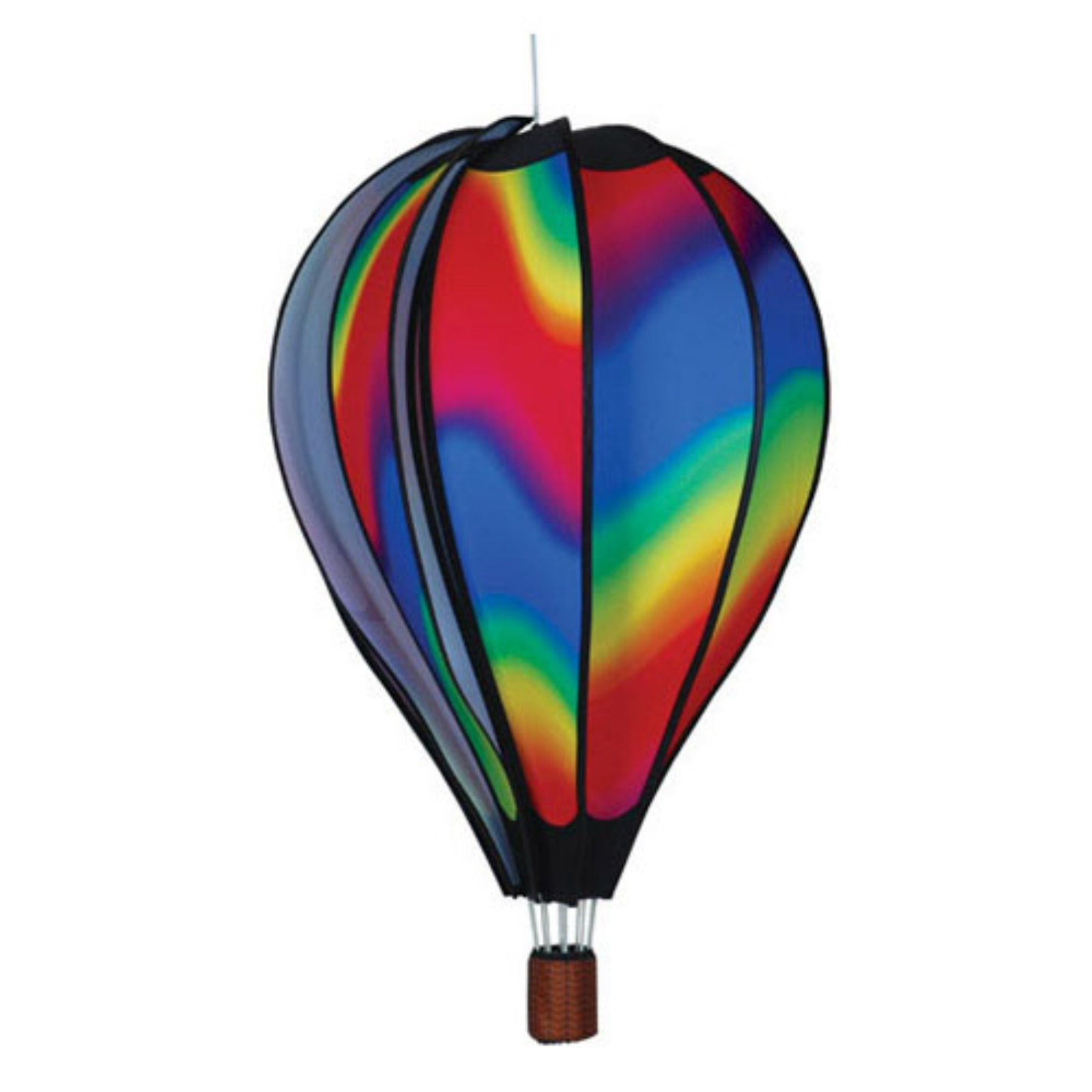 Premier Designs Hot Air Balloon Wavy Gradient Wind Spinner