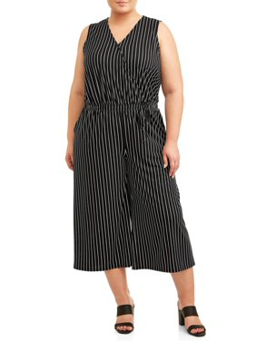 Black Womens Plus Dresses & Jumpsuits - Walmart.com