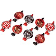 Cars Party Blowers, Pack of 8, Party Supplies