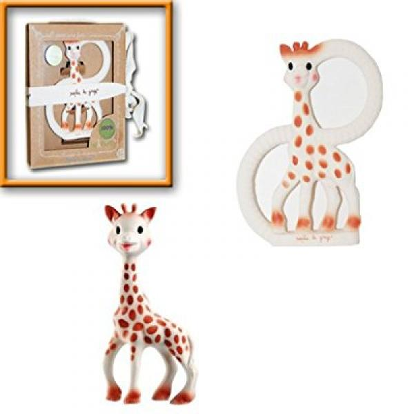 VULLI Sophie The Giraffe Teether Toy Set - (Includes The ...