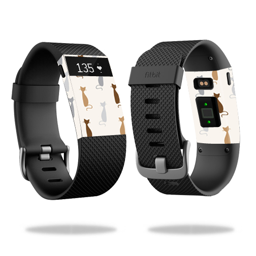 Skin Decal Wrap for Fitbit Charge HR cover skins sticker watch Cat
