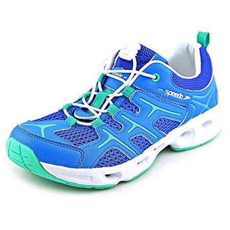 1af0e116336052 Speedo - Speedo® Ladies Hydro Comfort 3.0 Water Shoe (6, Blue/Green) -  Walmart.com