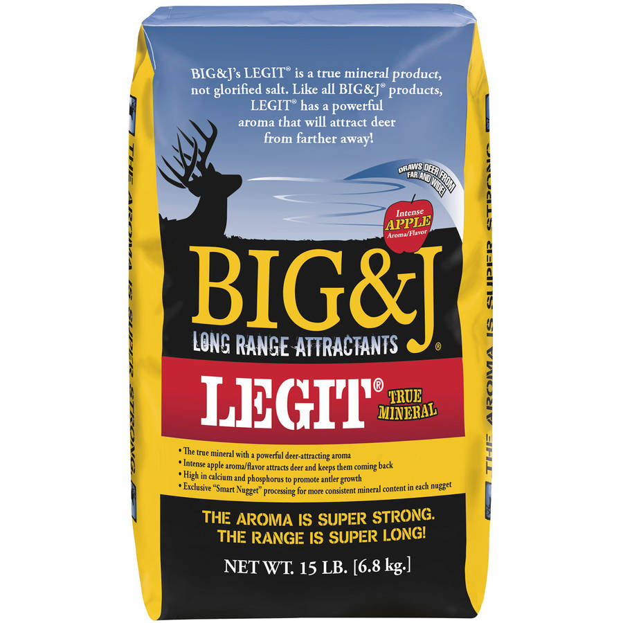Big and J Legit Mineral Mix, 15 Lbs