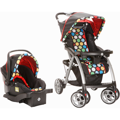 Safety 1st - Saunter Travel System, Broadway Dots