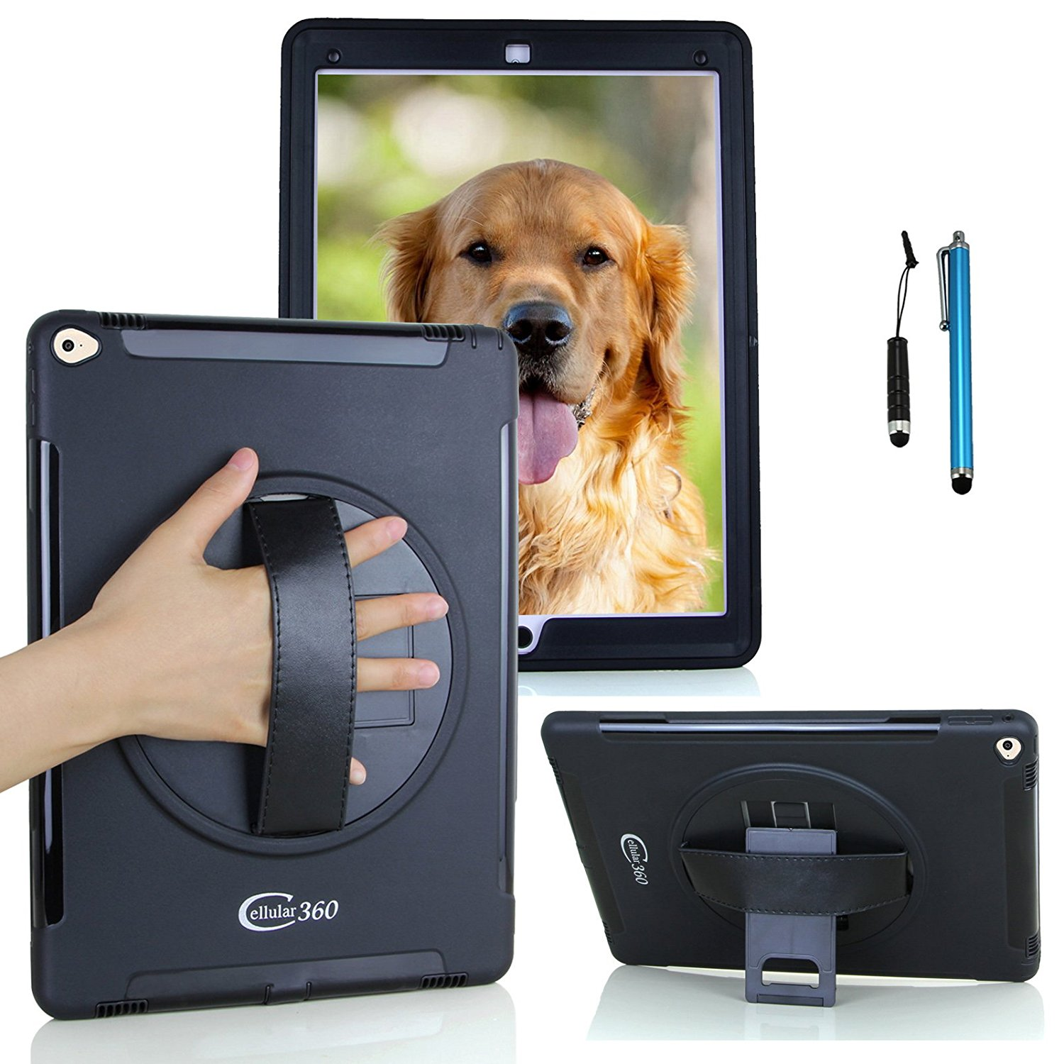 Cellular360 Apple iPad Air 2 Case with a Slide-out Kickstand an.. Free Shipping