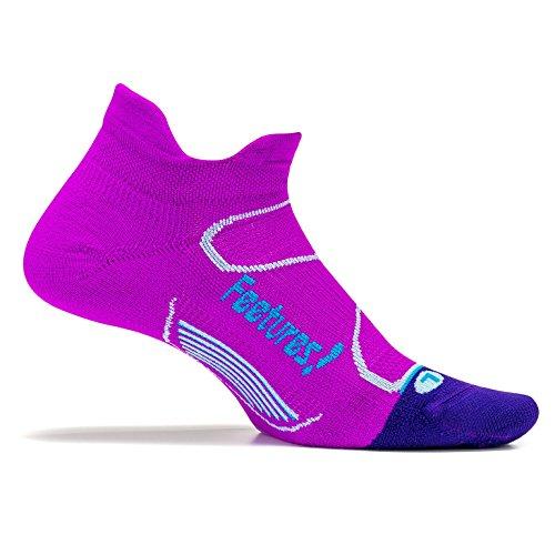 Feetures Elite Light Cushion No-Show Tab Running Sock Rio
