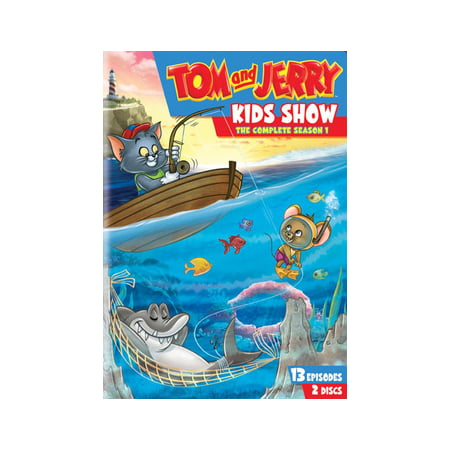 TOM & JERRY KIDS SHOW-COMPLETE 1ST SEASON (DVD/2 DISC/FF-4X3) (Tom Cruise Slide)