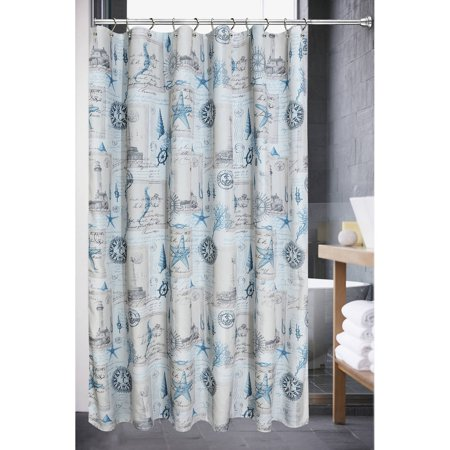 Sail Away Blue Shower Curtain